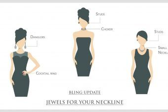 How to Wear Jewellery According to Your Neckline