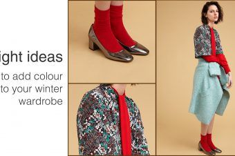 Bright Ideas: How to Add Colour to Your Winter Wardrobe