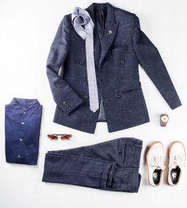 Profession: Architect | Wardrobe staples: Skinny trousers & formal shirts