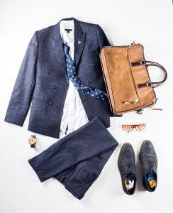 Profession: Banker | Wardrobe staples: Brogues & fitted blazers