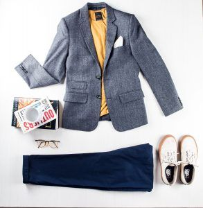 Profession: Creative Director | Wardrobe staples: Bright tees & pocket squares