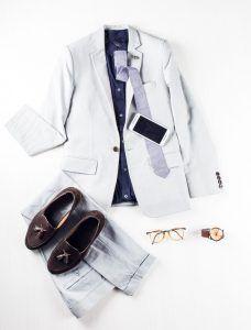 Profession: Entrepreneur   Wardrobe staples: Skinny ties & thick-rimmed glasses