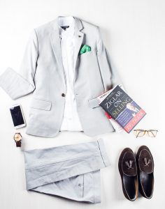 Profession: Professor | Wardrobe staples: Tasselled loafers & leather-strapped watches