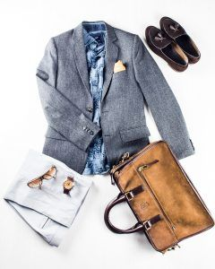 Profession: Restaurateur   Wardrobe staples: Offbeat shirts & carry-all bags
