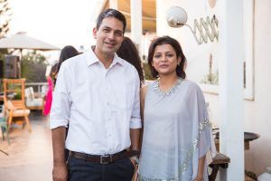 Gargi Banerjee-Koul and Rahul Koul, founders of élanstreet