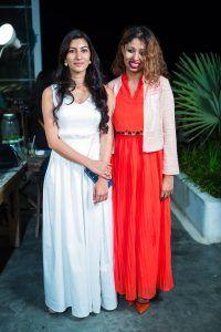 Stylist Sithara Kudige with élanstreet's Anamika Chanda