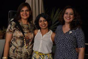 Image consultants Shruti Chaudhary-Sharma Miriam Korula and Aditi Kapoor-Khanna