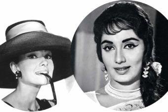 The Golden Girls: Audrey Hepburn and Sadhana