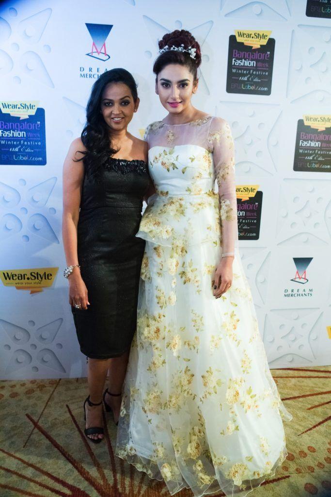 Michelle_Salins_Bangalore_Fashion_Week_Ragini_Dwivedi_Featured_Style