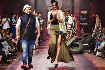 Glam Gothic: Abhishek Dutta's Dark Take On Winter