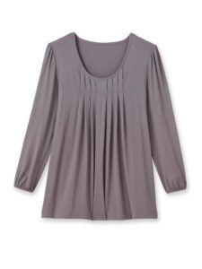 Body_type_optical_illusion_daxon_pleat_blouse_fashion_style
