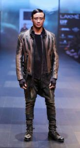 Lakme_Fashion_Week_2016_Menswear_Asa_Kazingmei_Punk_Leather_Fashion_Style