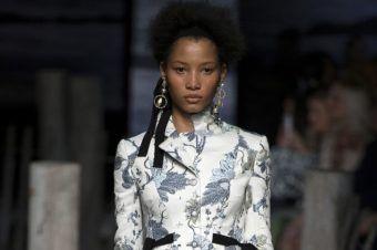Wave of Celebration: Best of London Fashion Week