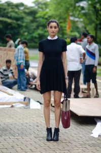 Supermodels_offduty_Kanishtha_Dhankar_lbd_Fashion_Style