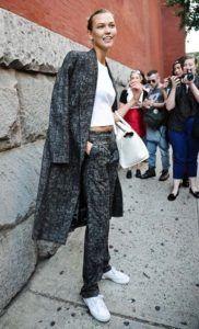 Supermodels_offduty_Karlie_Kloss_pantsuit_Fashion_Style
