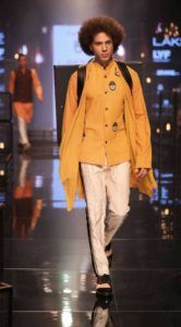 Lakme_Fashion_Week_2016_Menswear_Kunal_Rawal_Yellow_Fashion_Style