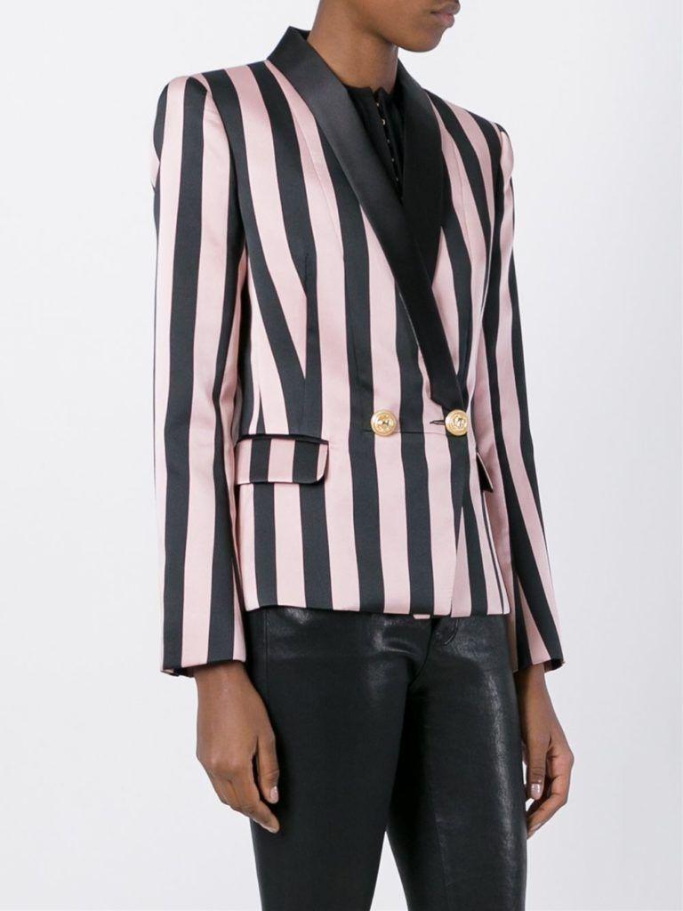 Now_Trending_Pantsuits_Balmain_Stripes_Fashion_Style