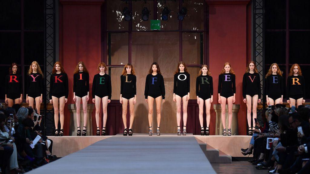 Sonia Rykiel : Runway - Paris Fashion Week Womenswear Spring/Summer 2017