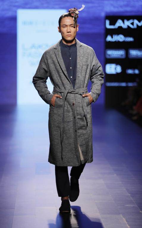 538c7c7c79a ... Singh Rahtore kicked started Lakmé Fashion Week with their collection  of cool casual wear