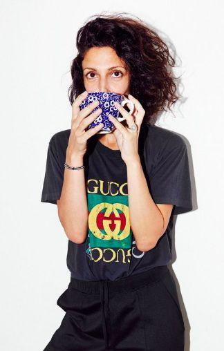 Yasmin Sewell in Gucci