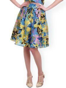 11461758444960-SASSAFRAS-Multicoloured-Floral-Print-Silk-A-Line-Skirt-5851461758444396-1