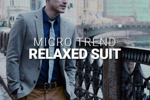MICRO TREND: RELAXED SUIT