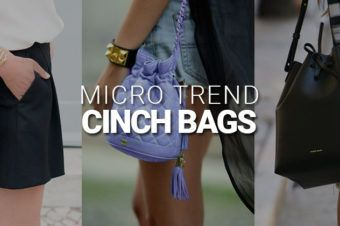 Micro Trend : Cinch Bags