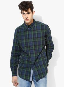 Nautica-Navy-Blue-Checked-Slim-Fit-Casual-Shirt-0578-983140003-1-pdp_slider_l