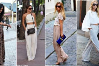 Cues to Style Wide Legged Trousers like a Celebrity