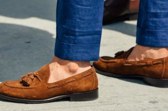 MICROTREND -MOCCASINS FOR MEN