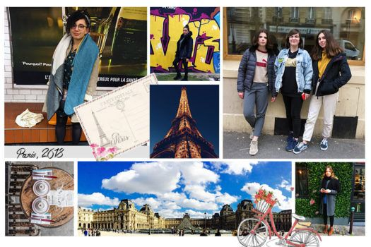 The style capital – Paris / On the stylish streets of Pareé
