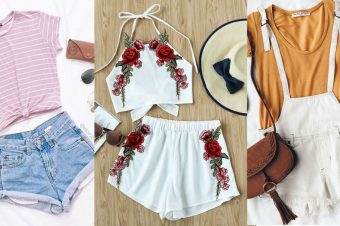 Three ways to do summer staples – Tanks & Shorts!