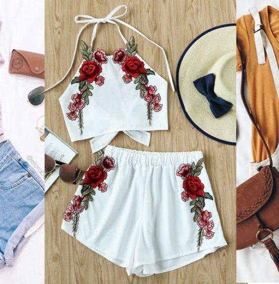 Three ways to do summer staples – Tanks & Shorts!