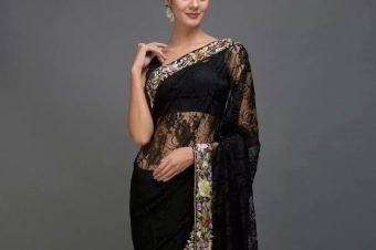 SAREE IS THE NEW LBD!
