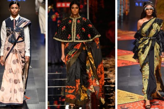 SARI AND LEHENGA TRENDS FROM LAKME FASHION WEEK – SUMMER RESORT '19