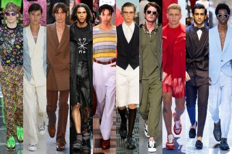 SPRING SUMMER TRENDS – MENSWEAR