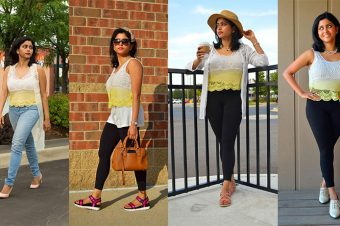 1 CROP TOP IN 4 WAYS