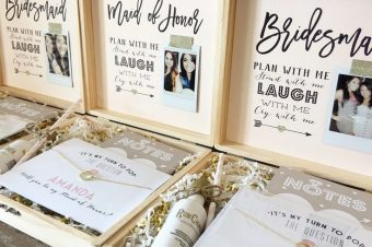 BRIDESMAID FAVOURS BEFORE YOU SAY 'I DO'