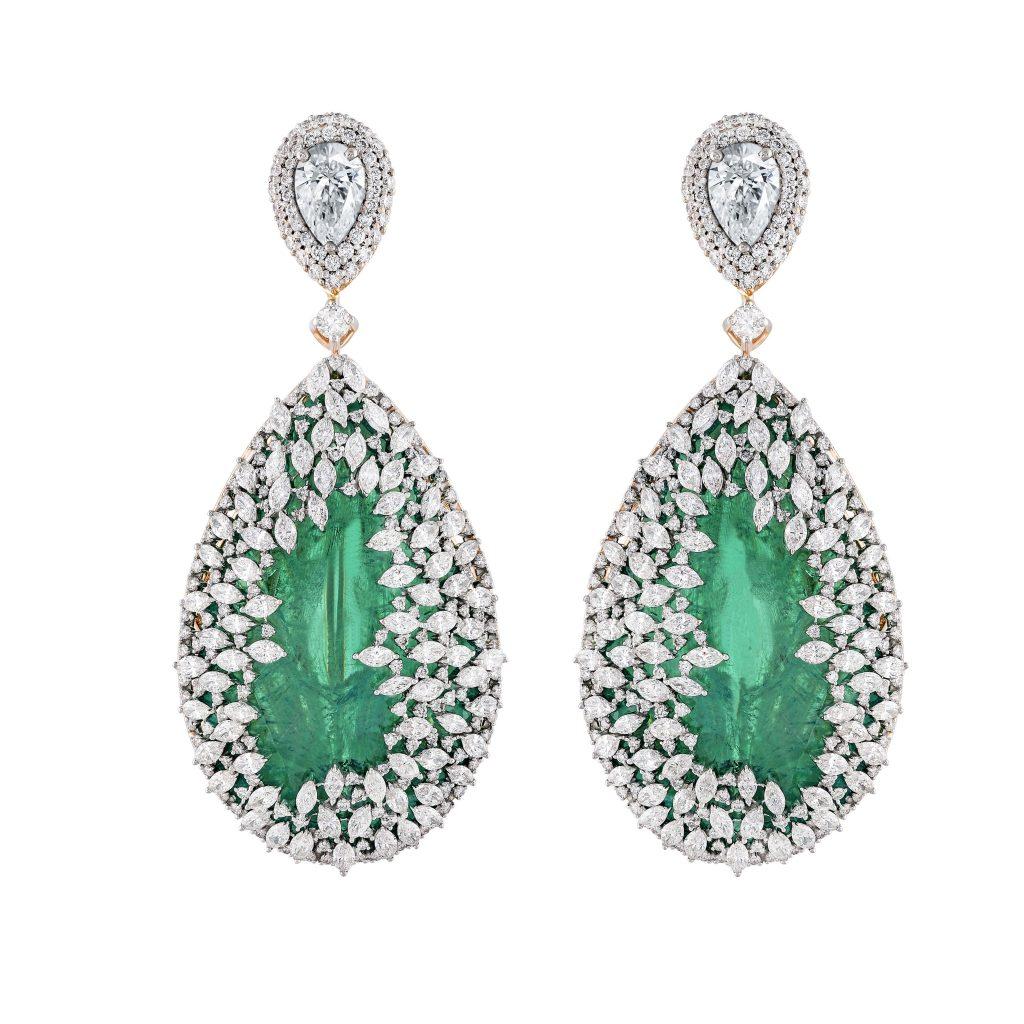 kamdaravlani-elanstreet-jewellery-design-earring-emerald
