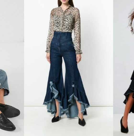 Get Into The Vintage Mode With Age Ruffled Denims