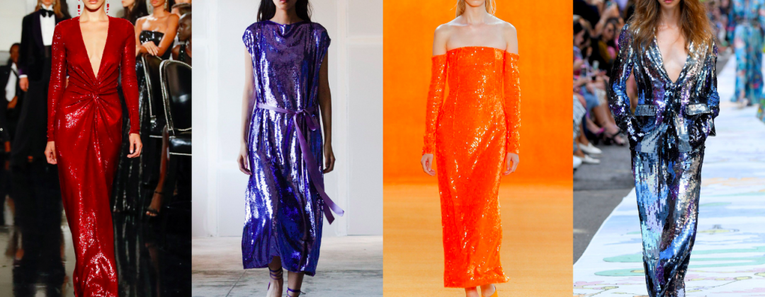 Add Shimmer to Your Wardrobe with Sequined Dresses This SS/20