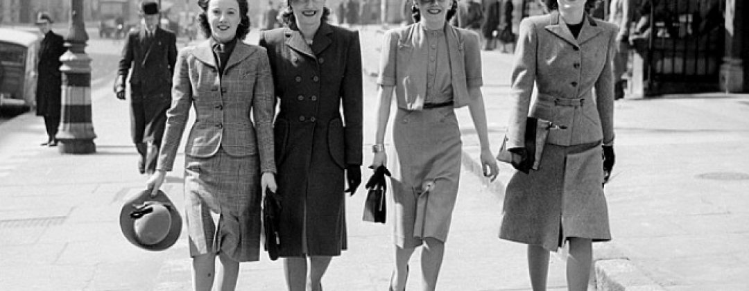 BLAST FROM THE PAST – THE 1940s FASHION