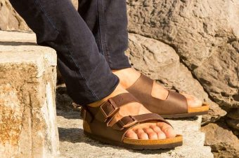 Pump up your soul with an extra Orthopaedic sole sandal