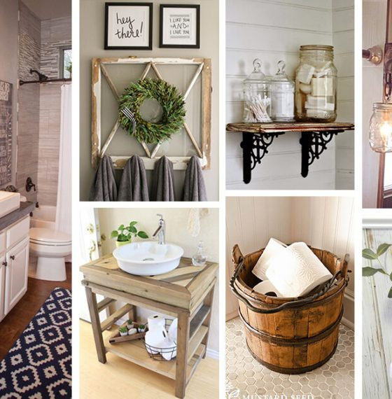 5 Easy Decorations for Bathroom Interior