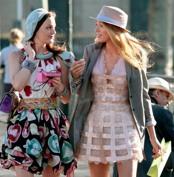 TOP FASHION LOOKS FROM GOSSIP GIRL