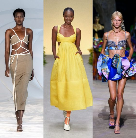 TOP SPRING SUMMER '21 TRENDS FROM THE RUNWAY