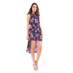 PRYM Printed Asymmetrical Dress