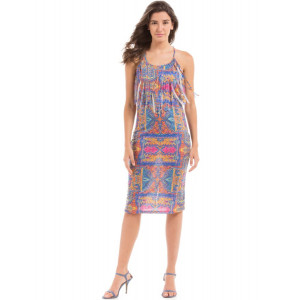 PRYM Printed Knit Midi dress