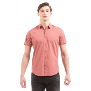 PRYM Dusty Rose Poplin Half Sleeves Shirt