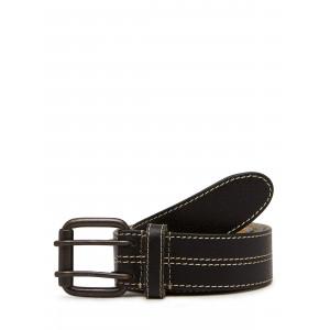 Camelio Multi-stitched Genuine Leather Belt